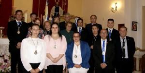 La nueva Junta de Gobierno de la Hermandad de la Bella de Isla Cristina toma posesión sus cargos