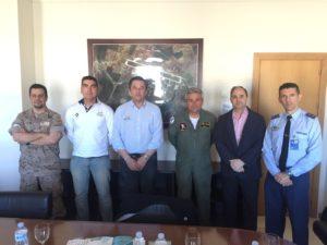 Huelva 2016 se presenta en la Base Aérea de Morón