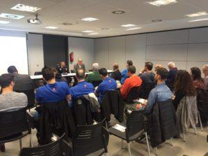 Presentados los VI Juegos Europeos de Policías y Bomberos en Cataluña y el País Vasco.