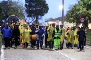 Presos Isleños de la Cárcel de Huelva Peregrinan al Rocío