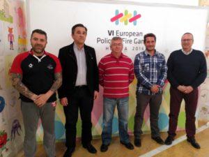 Huelva Taxi ofrecerá descuentos a los acreditados del Europeo de Policías y Bomberos