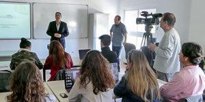 Empresarios del sector turístico y comercial asisten al Taller 'Google Adwords' de Andalucía en el Centro Escuela de Formación Ocupacional (CEFO) de Islantilla