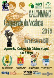 En Marcha el Campeonato de Andalucía de Balonmano Infantil