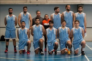 El equipo de baloncesto masculino de la UHU clasificado para el Campeonato de España