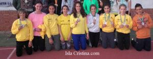 La Cantera con 27 Onubenses en el Campeonato Andaluz Infantil