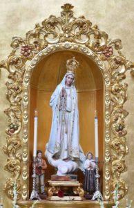 Cultos en Honor de Ntra. Sra. De Fátima en Isla Cristina