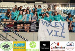 El Club Voleibol Isla Cristina Vic, pone el Broche Final a una Temporada Fantástica