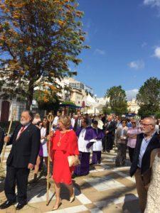 Procesión del Corpus Christi en Isla Cristina