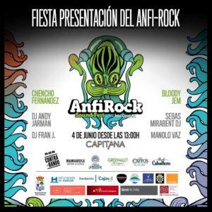 Fiesta Presentación Anfirock Isla Cristina 2016