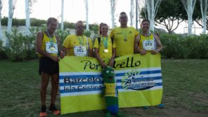 Los Veteranos del C.A. Isla Cristina suman 13 medallas, 8 oros, 1 plata y 4 bronces