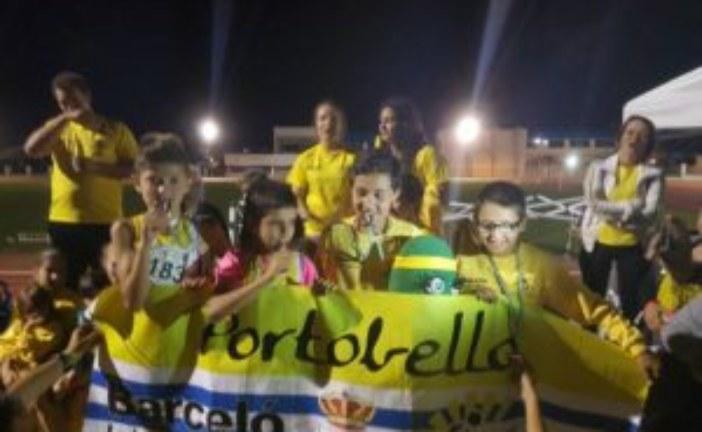 Los Alevines del C.A. Isla Cristina Suben al Podio del Campeonato Andaluz