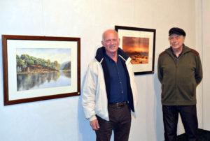 Antonio Martínez expone sus obras pictóricas en Huelva en la sala de Fundación Caja Rural del Sur