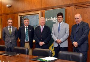 Fundación Caja Rural del Sur impulsa una iniciativa empresarial que doblará las hectáreas de regadío en Huelva