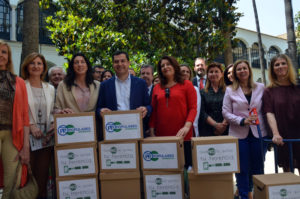 El PP lleva al Parlamento andaluz más de 300.000 firmas para suprimir el Impuesto de Sucesiones y Donaciones