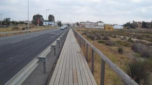 Cuatro heridos, en un accidente de tráfico en Isla Cristina