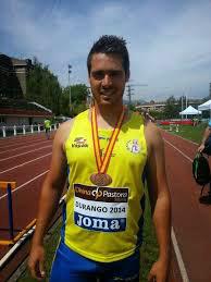 Silva y el isleño A. Palma compiten en el Campeonato de Andalucía de Atletismo