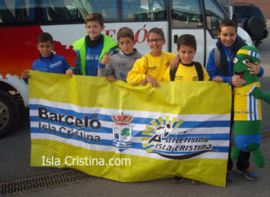 Brillante el C.A. Isla Cristina Alevín Masculino