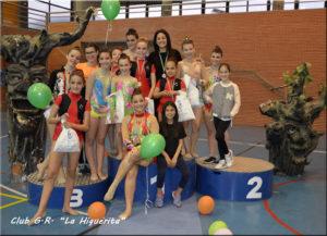 Celebrado con Éxito el I Torneo de Gimnasia Rítmica «La Higuerita»