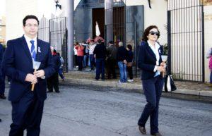 Nuestra Señora de Fátima en procesión por Isla Cristina