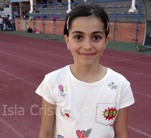 Eva Navarro Serrano «Atleta Veloz por el Podio»