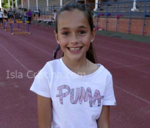 Fatima Hernández de Gracia «Atleta por Competir en una Final»