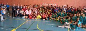 Gran ambiente en la jornada de clausura del Campeonato de Andalucía de Balonmano Infantil