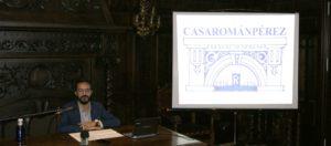La conferencia de Agustín Ponce Figuereo abre los actos conmemorativos del Centenario de la Casa de Román Pérez