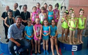 Éxito de participación en el IV Torneo de Gimnasia Rítmica 'Ciudad de Isla Cristina'