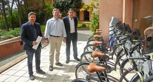 Los hoteles de Islantilla  implantan un servicio de alquiler de bicicletas