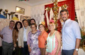 La Asociación de Mujeres Las Jardineras inaugura su Cruz de Mayo