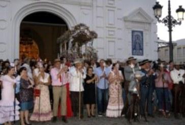 La Hermandad del Rocío de Isla llega a la ciudad tras varios días de camino