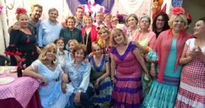 La Peña Cultural Carnavalera «Las Matildas»  inauguran su Cruz de Mayo