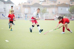 Isla Cristina y Ayamonte participaron en el 'II Family Hockey'