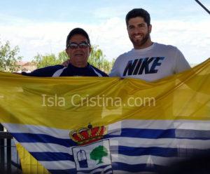El Atleta Isleño Toni Palma en el Control Absoluto de Atletismo
