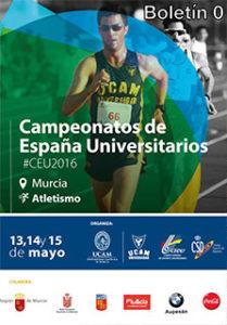 Antonio Palma 10º Clasificado en el Nacional Universitario de Atletismo