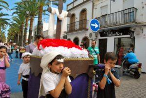 Cruces de Mayo, Poesía, Flamenco y deporte, centran las actividades fin de semana en Isla Cristina
