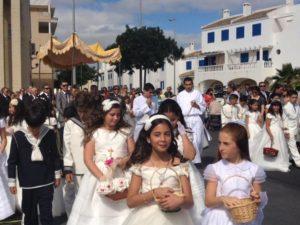 Corpus, tapas, flamenco y deportes durante el fin de semana en Isla Cristina