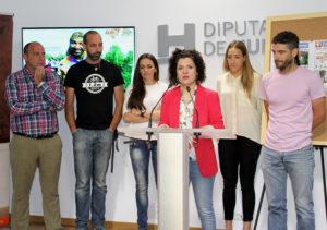 Cuatro deportistas onubenses recorrerán Andalucía para apoyar a personas con discapacidad en la India
