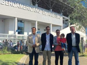 El Estadio Iberoamericano de Atletismo ya luce el nombre de Emilio Martín