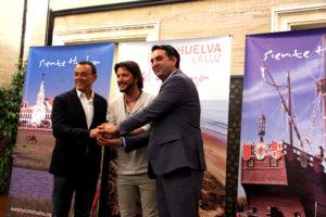 El Cantante isleño Manuel Carrasco refuerza la promoción de la provincia de Huelva como destino turístico