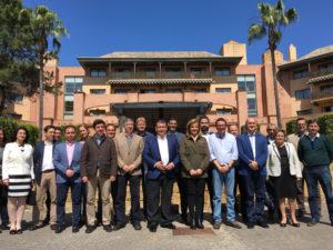 Báñez anuncia una inversión extraordinaria para paliar los efectos del temporal en el litoral onubense