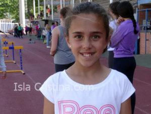 Claudia Almeida Mangas «Atleta por un Gran Premio»