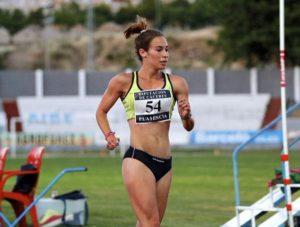 Laura García Caro en la Coruña por el pase a los Juegos Olímpicos
