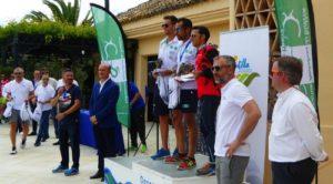 Emilio Martín y Rocío Espada, vencedores del II Duatlón 'Mancomunidad Islantilla Golf Resort'