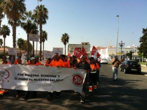 Huelga Indefinida en el servicio de limpieza viaria de Isla Cristina a partir del próximo mes de junio
