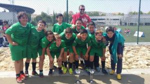 Los Alevines Isleños del Fútbol Sala Campeones de la «Provincia en Juego»