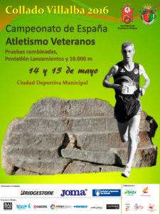 José Antonio Silva en el Nacional Veteranos