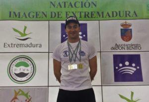Rubén Gutiérrez, doble Campeón de Extremadura y un Subcampeonato en Don Benito