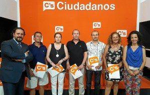 Ciudadanos constituye el grupo local de Isla Cristina
