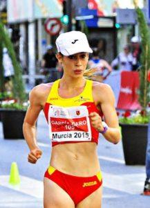 Laura García-Caro «Oro en 10.000m. Marcha» en el Campeonato Mediterráneo Sub 23